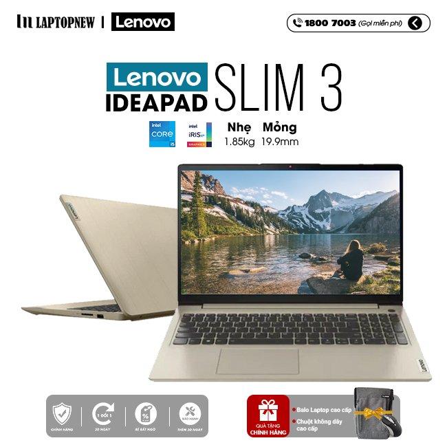 Laptop Lenovo Ideapad Slim 3 15ITL6 82H80044VN khuyến mãi quà tặng