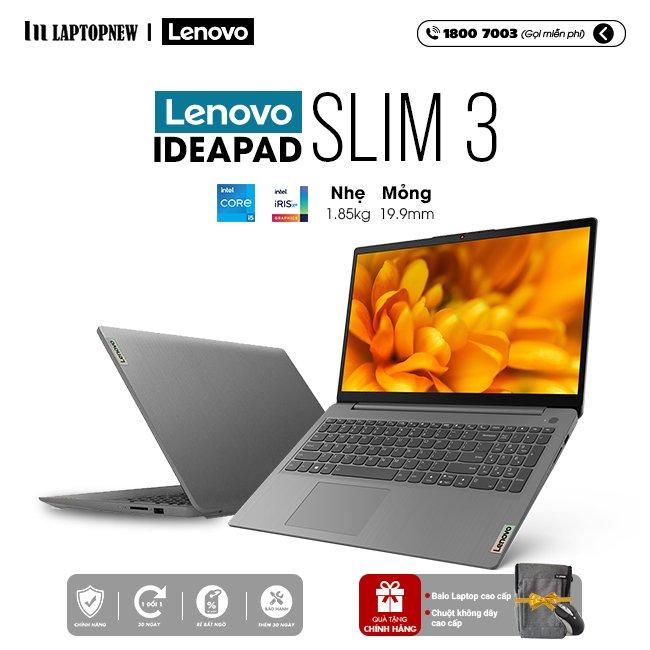 Laptop Lenovo Ideapad Slim 3 15ITL6 82H80042VN khuyến mãi quà tặng