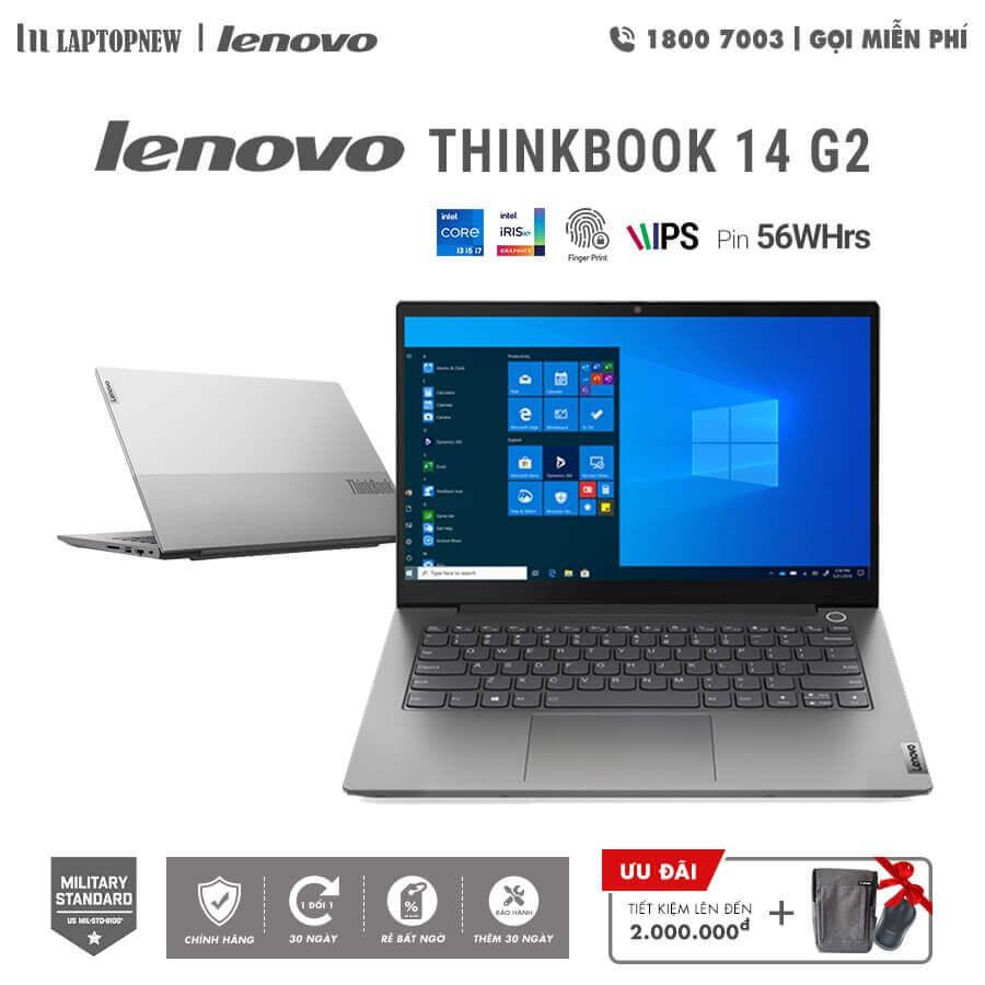 Laptopnew - LENOVO THINKBOOK 14 G2 - 20VD003LVN (Silver) khuyến mãi quà tặng