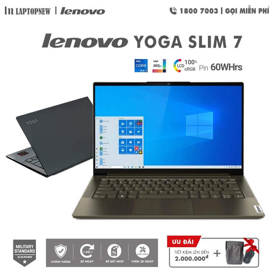Laptopnew - LENOVO YOGA SLIM 7 14ITL05 - 82A30071VN (Gray) khuyến mãi quà tặng