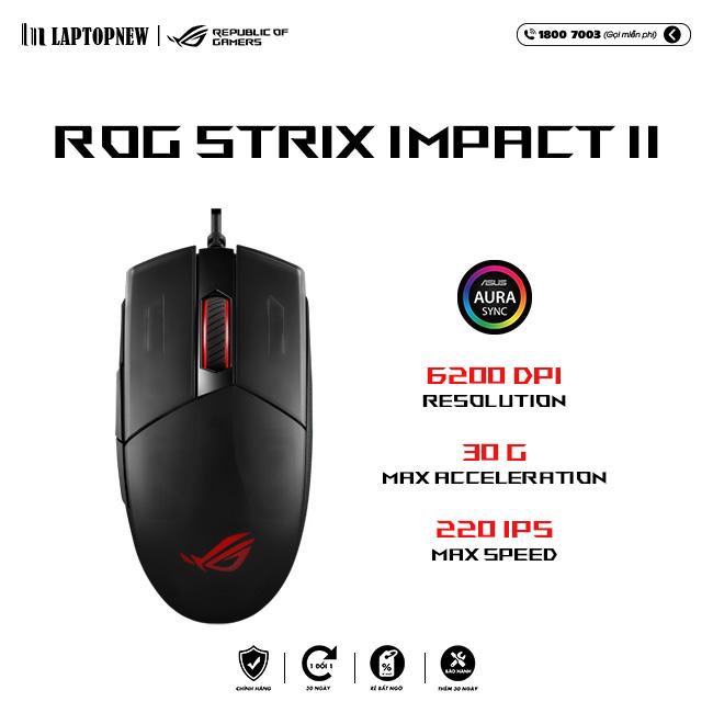 Mouse Asus ROG Strix Impact II 1