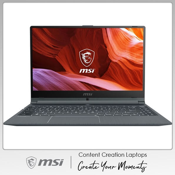 Laptop MSI Modern 14 A10RB - 686VN (Gray) | Content