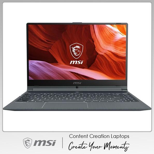 Laptop MSI Modern 14 A10RAS - 1041VN (Gray) | Content