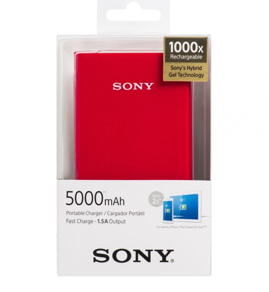 Pin sạc dự phòng Polymer 5.000 mAh Sony