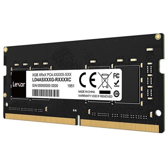 Lexar - RAM 4GB DDR4 2666MHz For Laptop