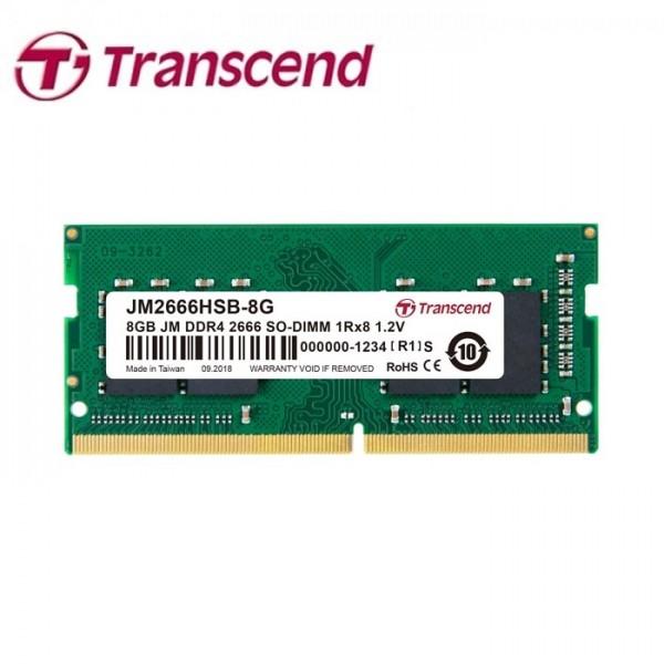Transcend - RAM 8GB DDR4 2666MHz For Laptop