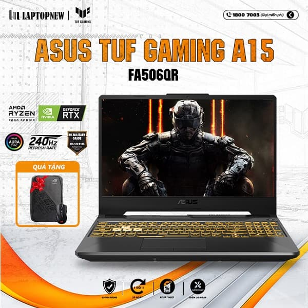 Laptop Asus Tuf A15 FA506QR AZ003T khuyến mãi