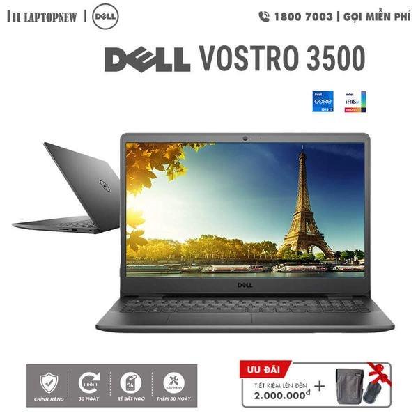 Laptop Dell Vostro 3500 V3500A (Black)   i5-1135G7 Gen 11th   4GB DDR4   SSD 256GB PCIe   VGA MX330 2GB   15.6 FHD   Win10. -- Hàng Chính Hãng, Deal Giá --