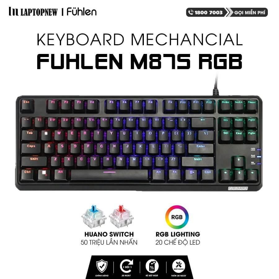 Fuhlen - Keyboard Mechancial Fuhlen M87s with RGB.