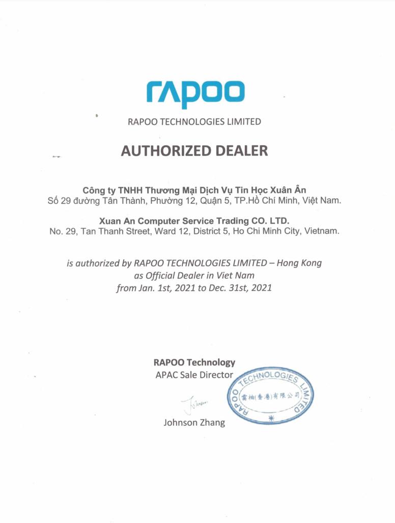 RAPOO - Mouse Wireless Rapoo M216