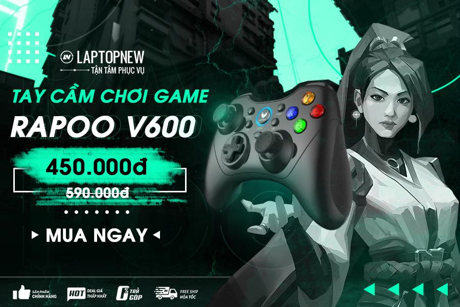 Tay cầm chơi game Rapoo V600