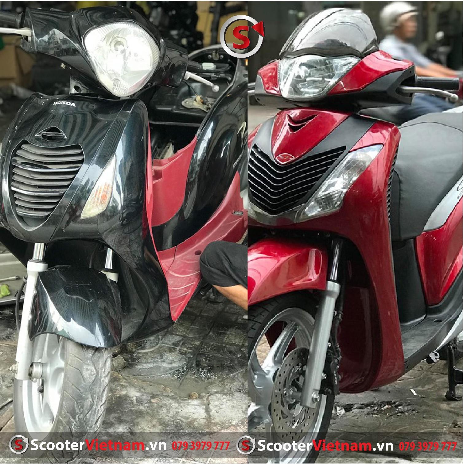 Độ Xe PS lên Sh 2012 Dzin tại Scooter Việt Nam
