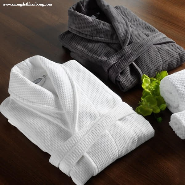 Áo choàng tắm khách sạn (Mẫu 3)