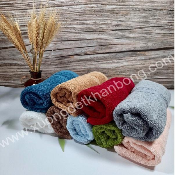 Bộ 9 khăn mặt cotton cao cấp
