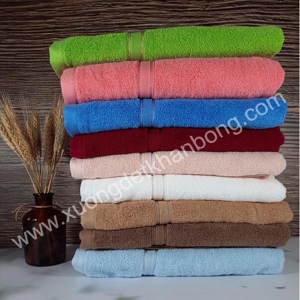 Bộ 09 khăn tắm cotton cao cấp