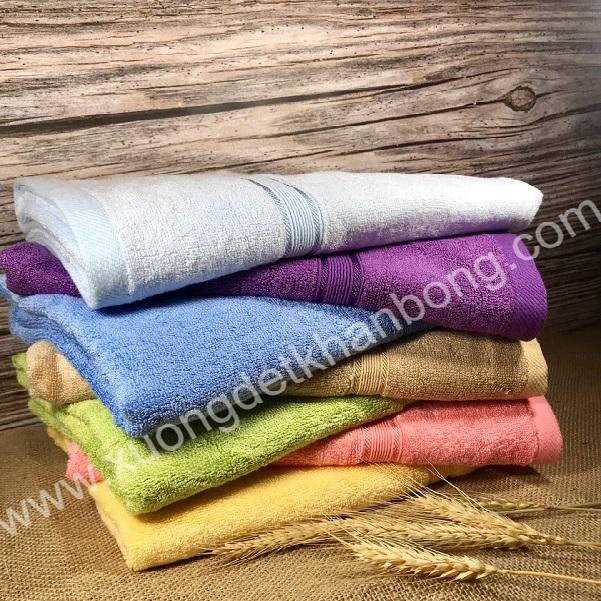 Bộ 7 khăn tắm cotton 60x120cm