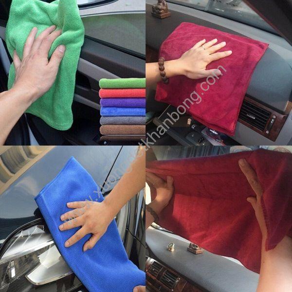 Khăn lau xe hơi (Mẫu 3)