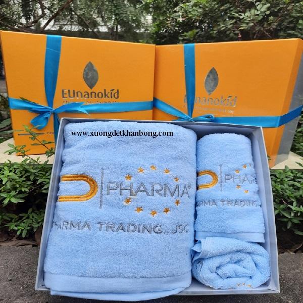 Bộ 3 khăn quà tặng cao cấp (Mẫu 43)