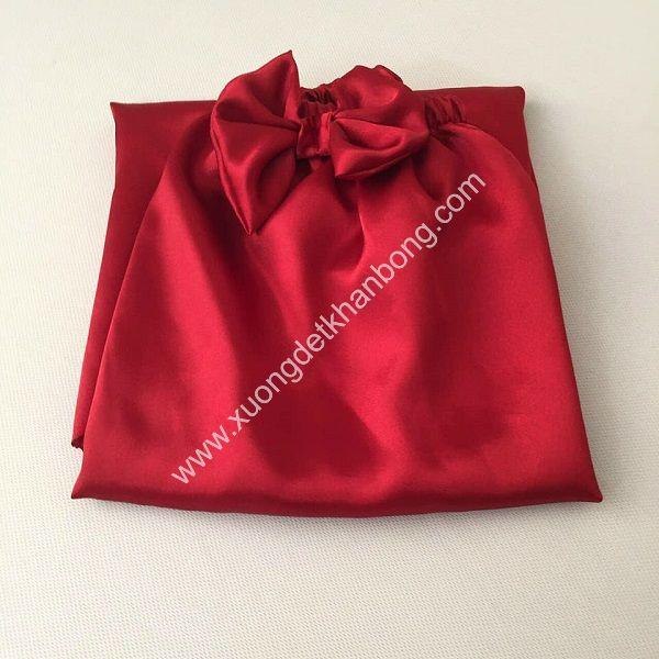 Váy quây spa (Đỏ tươi)