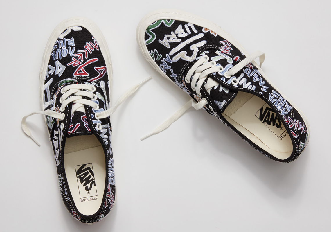 "Vault By Vans New Releases: Vans Vault OG Authentic LX ""Zodiac Pack"""