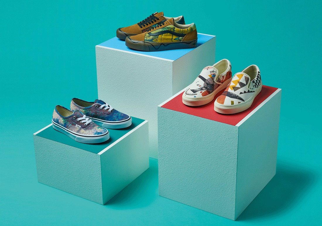 Vans X Moma Sneaker Collection 2020
