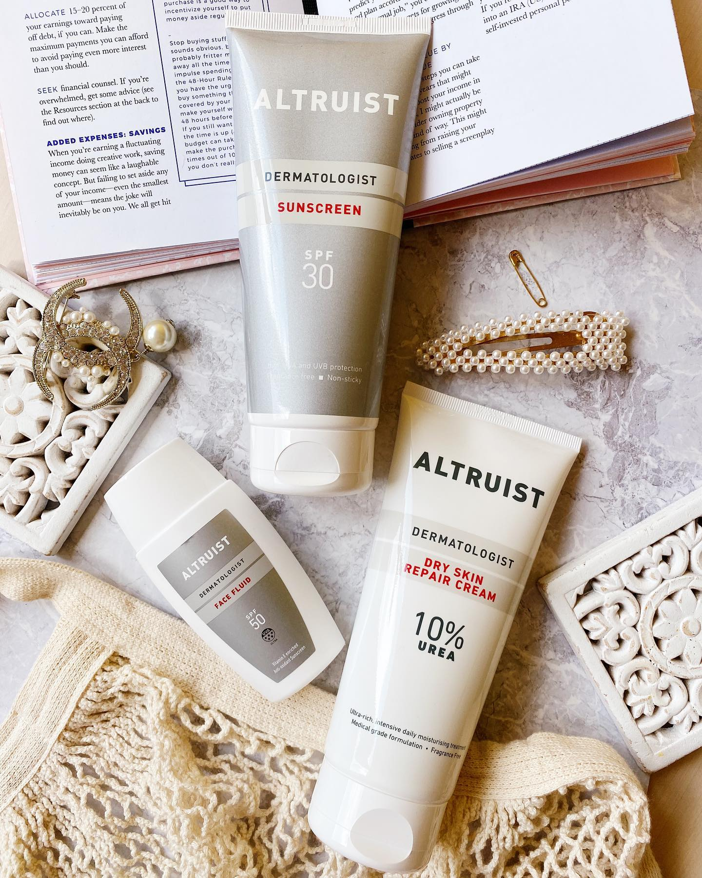 Altruist - Kem dưỡng phục hồi da Altruist Urea 10%   Meow Beauty Shop