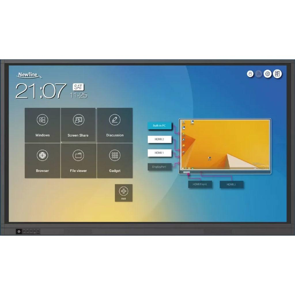 Màn hình tương tác LCD hãng Newline TT-6518RS