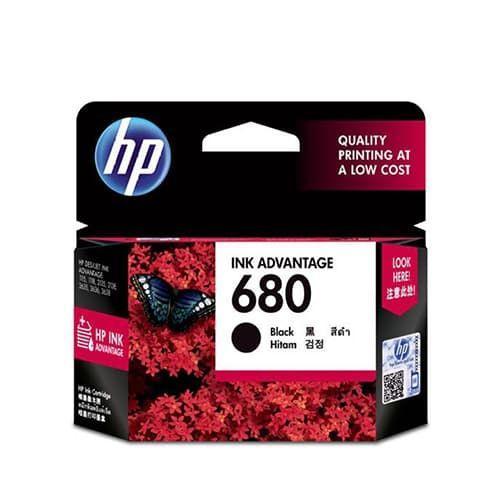 Mực in Phun màu đen HP 680 (F6V27AA)