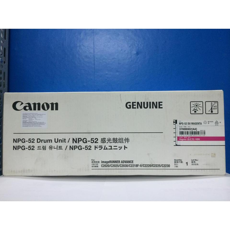 TRỐNG CANON NPG 52 M