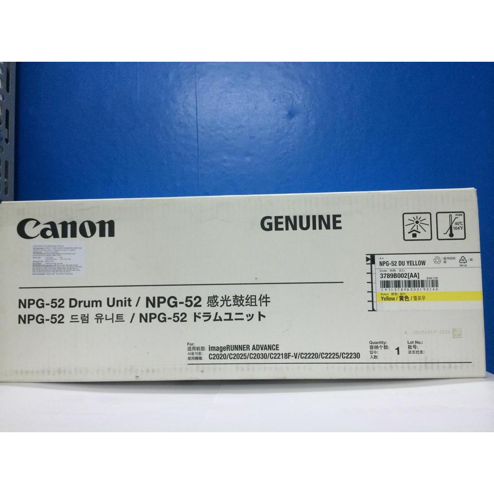 TRỐNG CANON NPG 52 Y