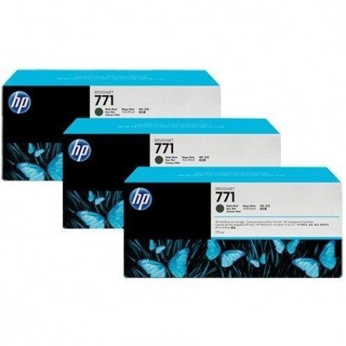 Mực in Phun màu HP 771B 775-ml