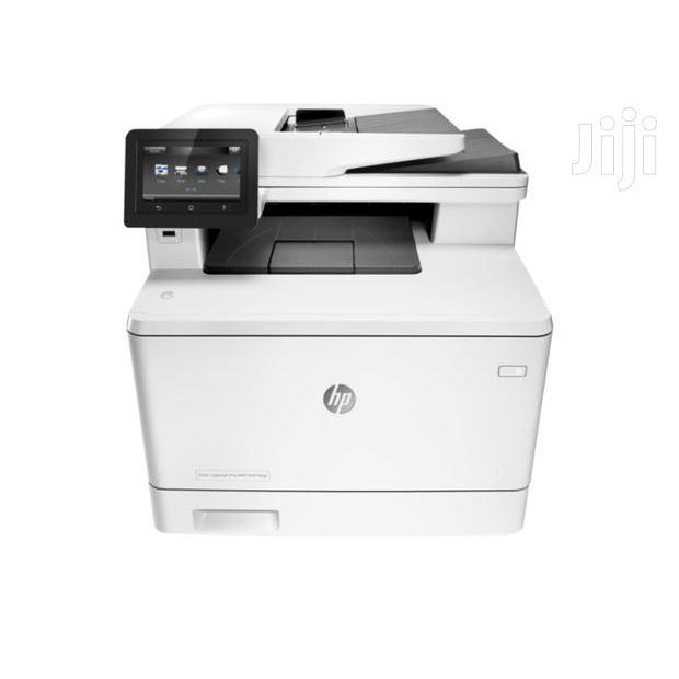 máy in laser màu HP 477FDW