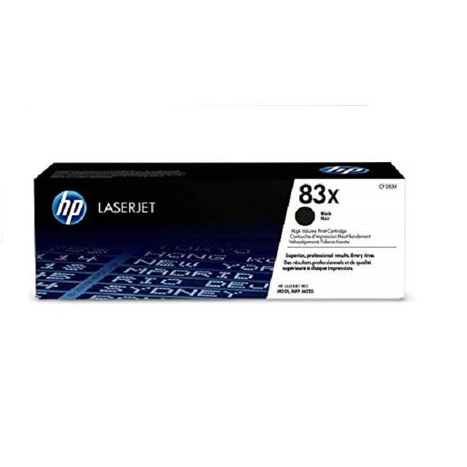 Mực in laser đen trắng HP 83X (CF283X)