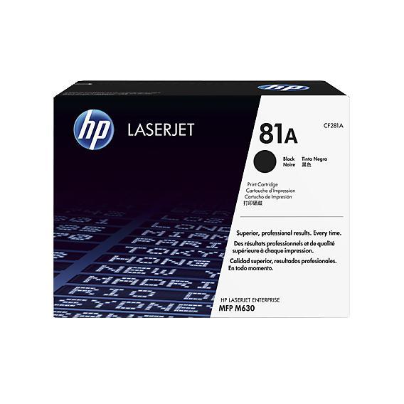 Mực in Laser đen trắng HP 81A (CF281A)