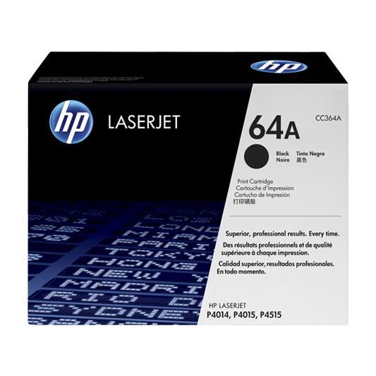 Mực in Laser đen trắng HP 64A (CC364A)