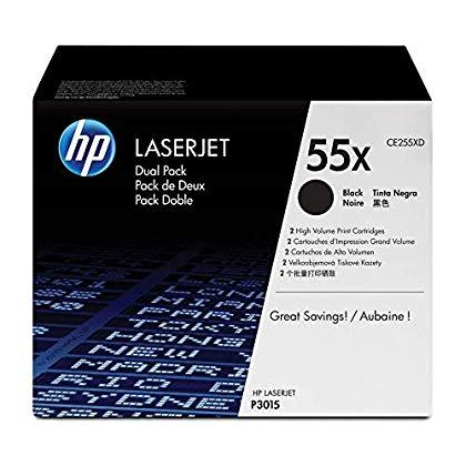 Mực in Laser đen trắng HP 55X (CE255XD)