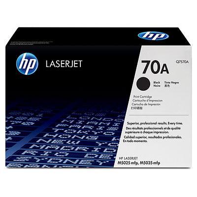 Mực in laser Đen trắng HP 70A (Q7570A)