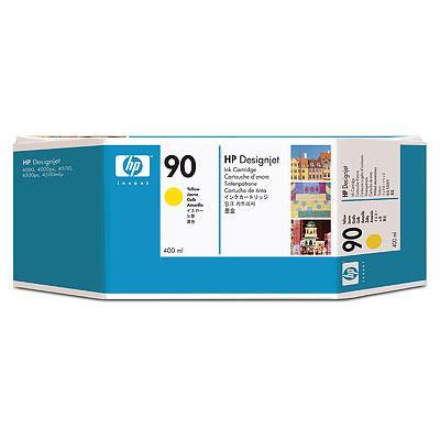 Mực in phun màu HP 90 400-ml Yellow Cartridge (C5065A)