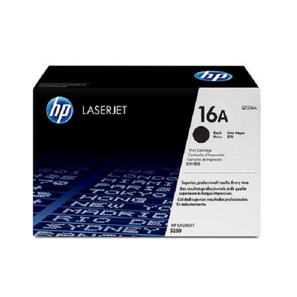 Mực in laserJet màu Đen HP 16A (Q7516A)