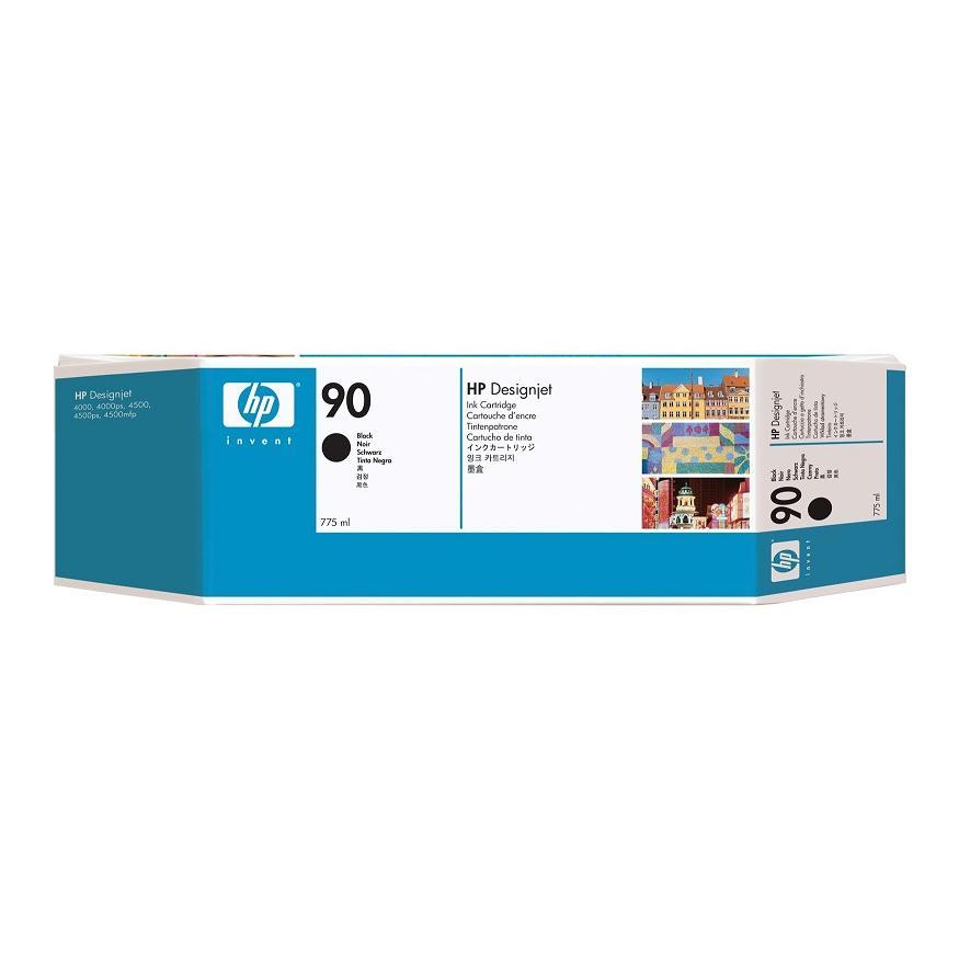 Mực in phun màu HP 90 775-ml Black Cartridge (C5059A)