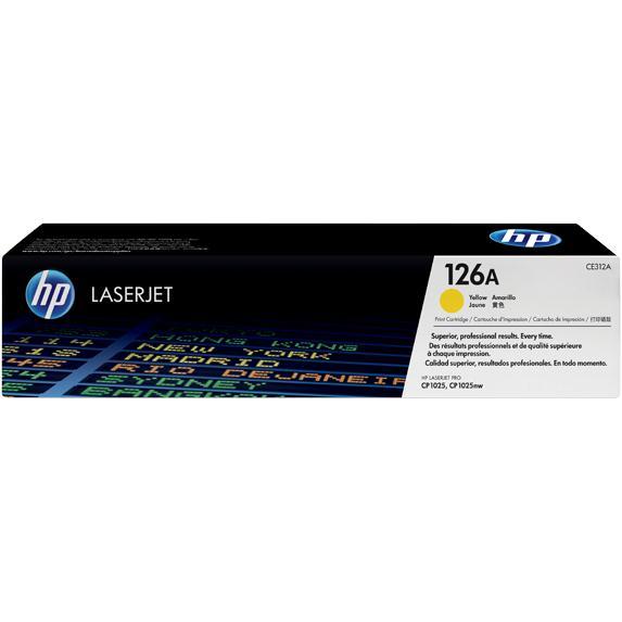 Mực in laser màu Vàng HP 126A (CE312A)