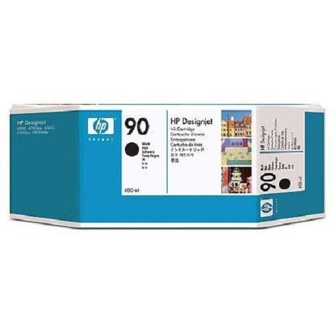 Mực in phun màu HP 90 400-ml Black DesignJet Ink Cartridge