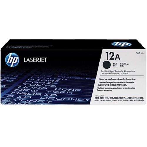 Mực in Laser đen trắng HP 12A (Q2612A)