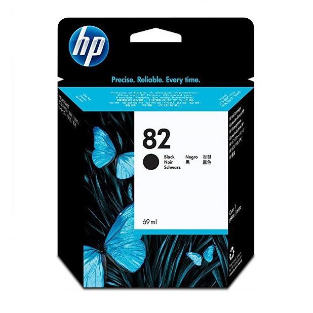 Mực in Phun màu HP 82 69-ml Black DesignJet Ink Cartridge (CH565AA)