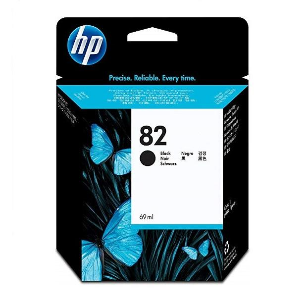 Mực in Phun màu HP 82 69-ml Black DesignJet Ink Cartridge (CH565AA)