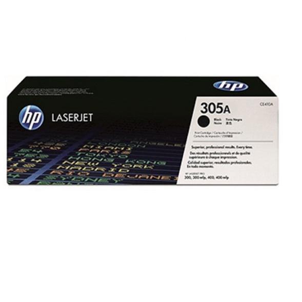 Mực in laser màu Đen HP 305A (CE410A)