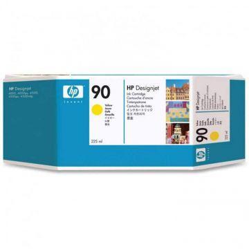 Mực in phun màu HP 90 225-ml Yellow Cartridge (C5064A)
