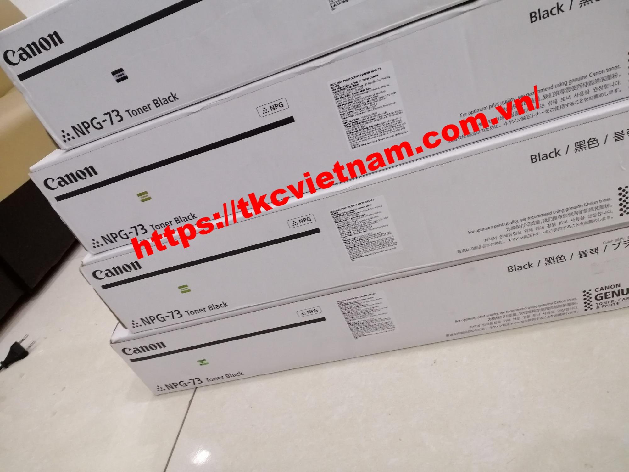 Hộp mực IR ADV4525/4535/4545/4551- Mực Canon NPG 73
