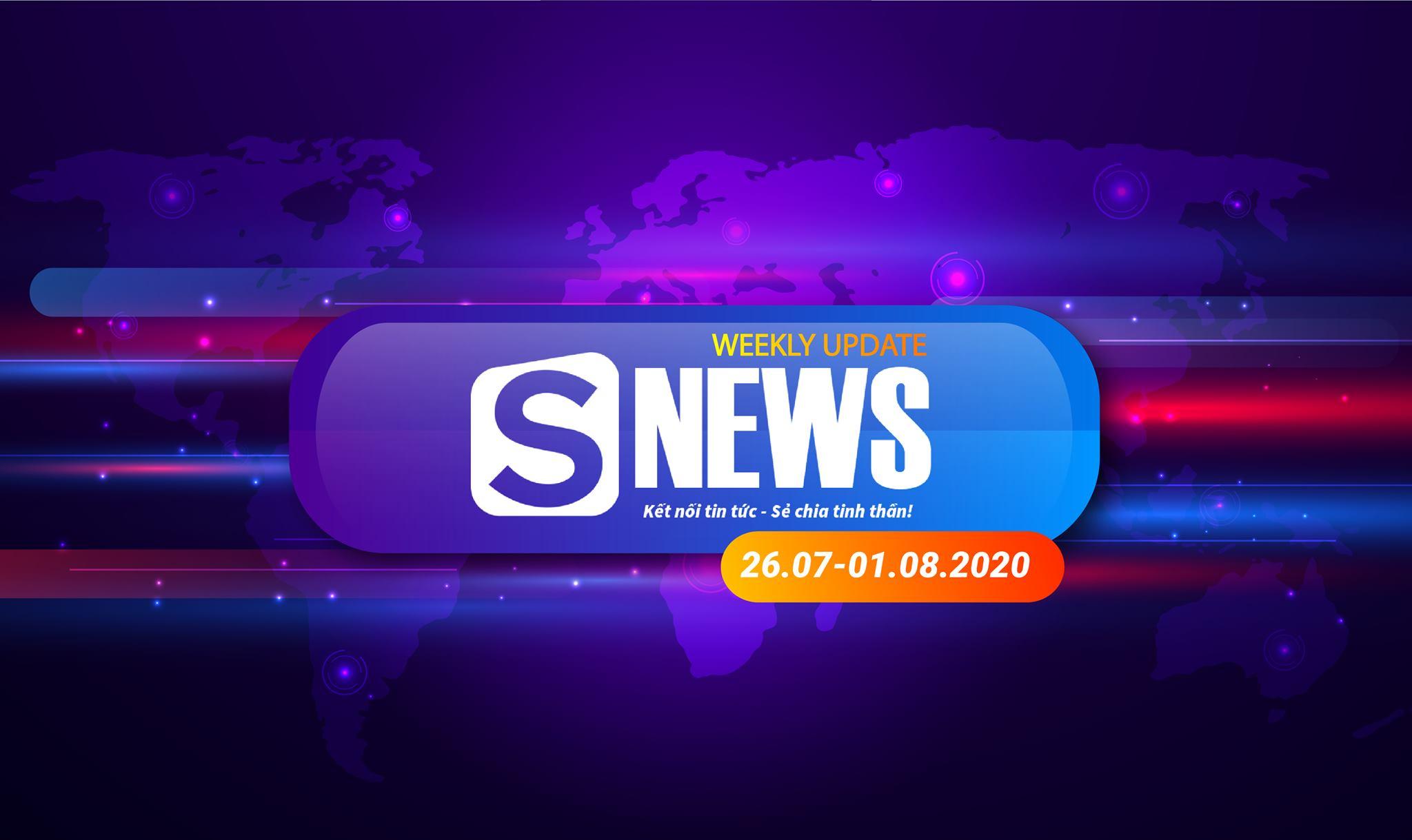 Tổng hợp tin tức tuần qua (26.07 - 01.08.2020)