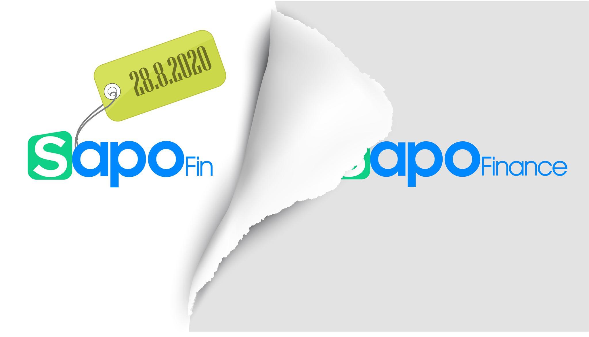 Thông báo: Thay đổi tên dự án Sapo Finance thành Sapo Fin